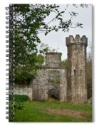 Castle Near Upper Lake Kilarney Irelnad Spiral Notebook