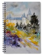 Castle Of Veves Belgium Spiral Notebook