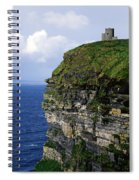 Castle On A Cliff, Obriens Tower Spiral Notebook