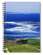 Castle On The Coast, Doonagore Castle Spiral Notebook
