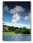 Castlewellan Castle & Lake, Co Down Spiral Notebook