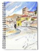 Castrillo De Duero In Spain 01 Spiral Notebook