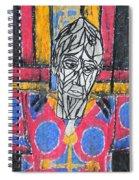 Catalan Jesus Spiral Notebook