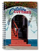 Catalina Cottages Spiral Notebook