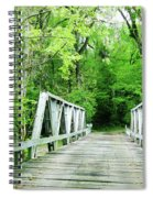 Catalpa Plantation Bridge Spiral Notebook