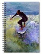 Catch A Wave Spiral Notebook