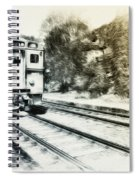 Catch That Train Spiral Notebook