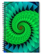 Catch The Dragon Spiral Notebook