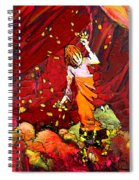 Catching Crocodile Tears Spiral Notebook