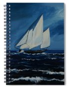 Catching The Wind Spiral Notebook