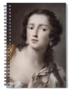 Caterina Sagredo Barbarigo As 'bernice' Spiral Notebook