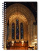 Cathedral In Chicago Spiral Notebook