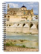 Cathedral Mosque In Cordoba Spiral Notebook