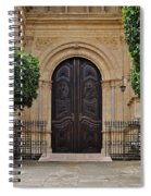 Cathedral Of Malaga Spiral Notebook