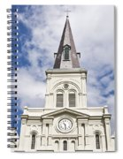 Cathedral Of Saint Louis Spiral Notebook