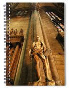 Cathedral Statue Milan Italy Spiral Notebook