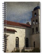 Catholic Church Old Town San Diego Spiral Notebook