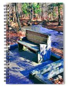 Catoctin Bench Spiral Notebook
