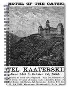 Catskills Hotel, 1884 Spiral Notebook