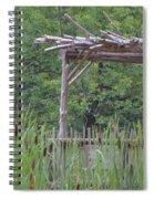 Cattails In The Garden Spiral Notebook