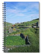 Cattle On The Road, Slea Head, Dingle Spiral Notebook