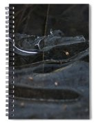 Caution Icy Curves Ahead Spiral Notebook