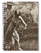 Cavalry Rides Again Spiral Notebook