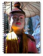Cave Buddha Spiral Notebook