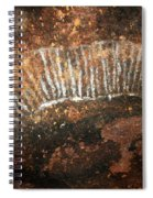 Cave Painting Of A Witchittey Grub Spiral Notebook