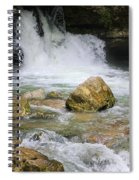 Cave Water Fall Spiral Notebook