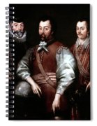 Cavendish Drake And Hawkins Spiral Notebook