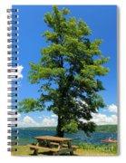 Cayuga Picnic Spiral Notebook