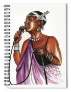Cecile Kayirebwa Spiral Notebook