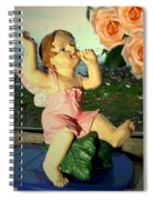 Celebrate The Rain With Roses 2 Spiral Notebook