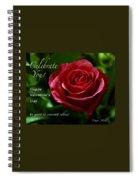 Celebrate You Spiral Notebook