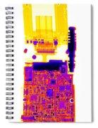 Cell Phone Spiral Notebook