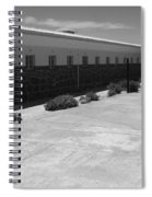 Prison Cell Row Spiral Notebook