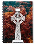 Celtic Cross Spiral Notebook