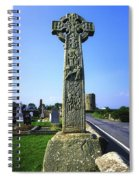 Celtic High Cross At Drumcliff Spiral Notebook