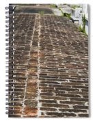 Cemetary Path Spiral Notebook