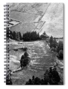 Cemetery And Pastures Spiral Notebook