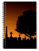 Cemetery And Tree Spiral Notebook