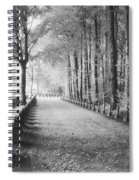 Cemetery At Ypres  Spiral Notebook