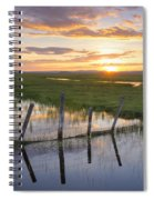 Centennial Sunset Spiral Notebook