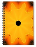 Center Of The Universe Spiral Notebook