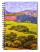 Central Coast Wine Country Spiral Notebook