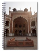 Central Cross Section Of Humayun Tomb In Delhi Spiral Notebook