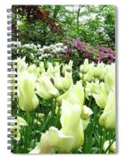 Central Park Tulips Spiral Notebook