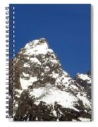 Central Teton Mountain Peak Spiral Notebook