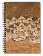 Cerastes Cerastes Horned Viper Spiral Notebook